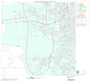 Primary view of object titled '2000 Census County Subdivison Block Map: Tyler CCD, Texas, Block 19'.