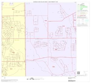 Primary view of object titled '2000 Census County Subdivison Block Map: Southwest CCD, Texas, Block 44'.