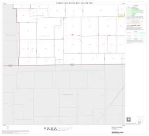Primary view of object titled '2000 Census County Subdivison Block Map: Slaton CCD, Texas, Block 5'.