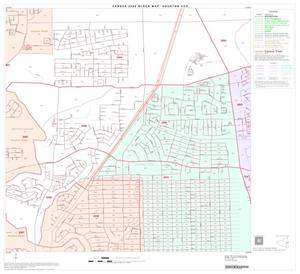 Primary view of object titled '2000 Census County Subdivison Block Map: Houston CCD, Texas, Block 70'.