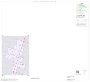 Primary view of object titled '2000 Census County Subdivison Block Map: Austin CCD, Texas, Inset C01'.