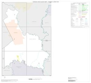 Primary view of object titled '2000 Census County Subdivison Block Map: Chance-Loeb CCD, Texas, Index'.