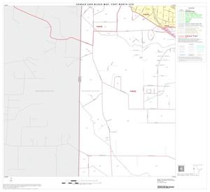 Primary view of object titled '2000 Census County Subdivison Block Map: Fort Worth CCD, Texas, Block 16'.