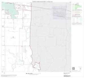 Primary view of object titled '2000 Census County Subdivison Block Map: Clyde CCD, Texas, Block 4'.