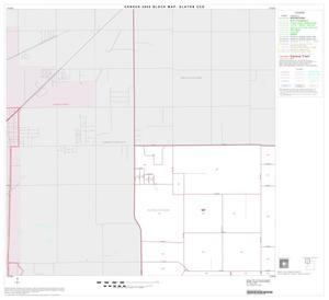 Primary view of object titled '2000 Census County Subdivison Block Map: Slaton CCD, Texas, Block 1'.