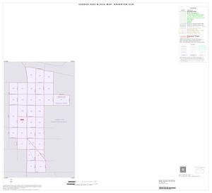 Primary view of object titled '2000 Census County Subdivison Block Map: Asherton CCD, Texas, Inset B01'.