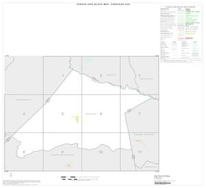 Primary view of object titled '2000 Census County Subdivison Block Map: Corrigan CCD, Texas, Index'.