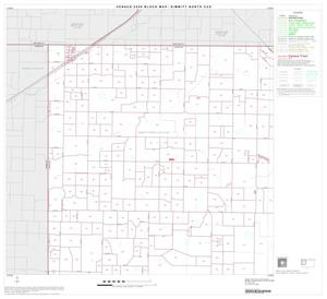 Primary view of object titled '2000 Census County Subdivison Block Map: Dimmitt North CCD, Texas, Block 1'.