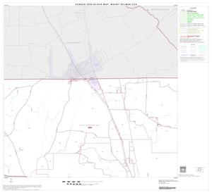 Primary view of object titled '2000 Census County Subdivison Block Map: Mount Selman CCD, Texas, Block 2'.