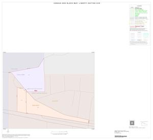 Primary view of object titled '2000 Census County Subdivison Block Map: Liberty-Dayton CCD, Texas, Inset A01'.