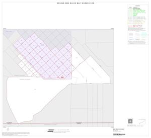 Primary view of object titled '2000 Census County Subdivison Block Map: Borger CCD, Texas, Inset C01'.
