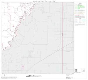 Primary view of object titled '2000 Census County Subdivison Block Map: Gruver CCD, Texas, Block 6'.