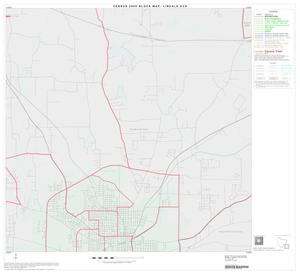 Primary view of object titled '2000 Census County Subdivison Block Map: Lindale CCD, Texas, Block 9'.