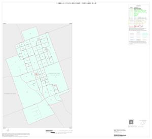 Primary view of object titled '2000 Census County Subdivison Block Map: Florence CCD, Texas, Inset A01'.