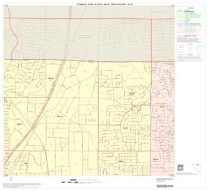 Primary view of object titled '2000 Census County Subdivison Block Map: Northeast CCD, Texas, Block 5'.