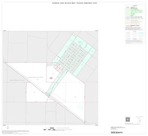 Primary view of object titled '2000 Census County Subdivison Block Map: Sudan-Amherst CCD, Texas, Inset B01'.