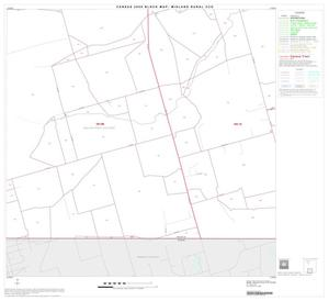 Primary view of object titled '2000 Census County Subdivison Block Map: Midland Rural CCD, Texas, Block 8'.