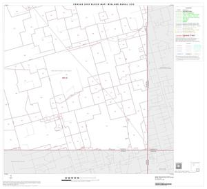 Primary view of object titled '2000 Census County Subdivison Block Map: Midland Rural CCD, Texas, Block 9'.