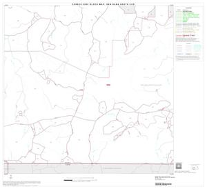 Primary view of object titled '2000 Census County Subdivison Block Map: San Saba South CCD, Texas, Block 6'.