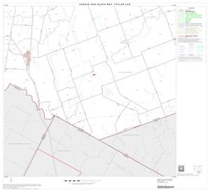 Primary view of object titled '2000 Census County Subdivison Block Map: Taylor CCD, Texas, Block 11'.