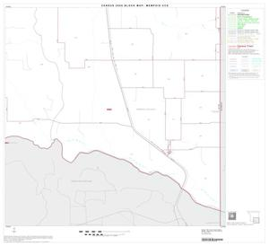 Primary view of object titled '2000 Census County Subdivison Block Map: Memphis CCD, Texas, Block 4'.