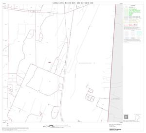Primary view of object titled '2000 Census County Subdivison Block Map: San Antonio CCD, Texas, Block 111'.