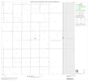 Primary view of object titled '2000 Census County Subdivison Block Map: White Deer-Groom CCD, Texas, Block 6'.
