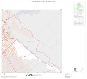 Primary view of object titled '2000 Census County Subdivison Block Map: Brownwood CCD, Texas, Inset B02'.