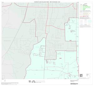Primary view of object titled '2000 Census County Subdivison Block Map: Whitehouse CCD, Texas, Block 1'.