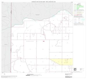 Primary view of object titled '2000 Census County Subdivison Block Map: Wellington CCD, Texas, Block 1'.