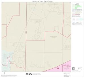 Primary view of object titled '2000 Census County Subdivison Block Map: Plano CCD, Texas, Block 4'.