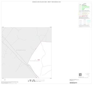 Primary view of object titled '2000 Census County Subdivison Block Map: West Tom Green CCD, Texas, Inset A01'.