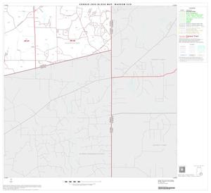 Primary view of object titled '2000 Census County Subdivison Block Map: Waskom CCD, Texas, Block 12'.