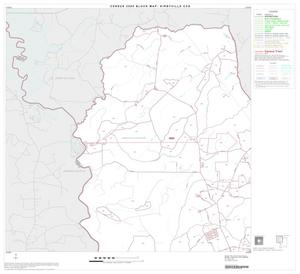Primary view of object titled '2000 Census County Subdivison Block Map: Kirbyville CCD, Texas, Block 1'.
