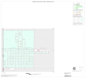 Primary view of object titled '2000 Census County Subdivison Block Map: Booker CCD, Texas, Inset A01'.