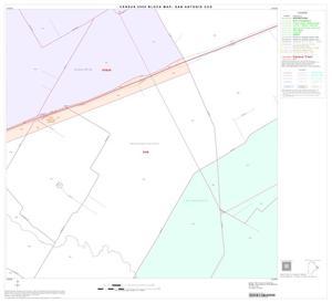 Primary view of object titled '2000 Census County Subdivison Block Map: San Antonio CCD, Texas, Block 58'.