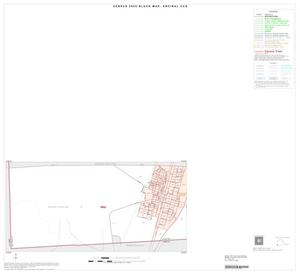Primary view of object titled '2000 Census County Subdivison Block Map: Encinal CCD, Texas, Inset A01'.