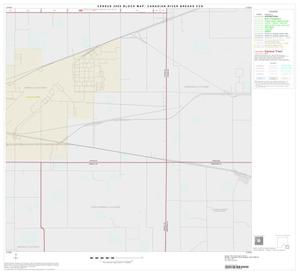 Primary view of object titled '2000 Census County Subdivison Block Map: Canadian River Breaks CCD, Texas, Block 16'.