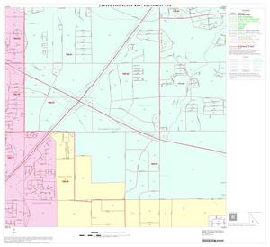 Primary view of object titled '2000 Census County Subdivison Block Map: Southwest CCD, Texas, Block 35'.
