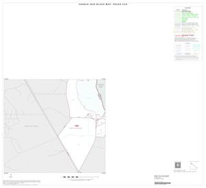 Primary view of object titled '2000 Census County Subdivison Block Map: Pecos CCD, Texas, Inset A02'.