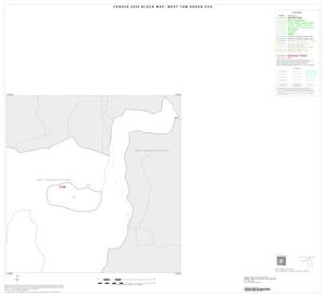 Primary view of object titled '2000 Census County Subdivison Block Map: West Tom Green CCD, Texas, Inset A02'.