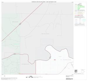 Primary view of object titled '2000 Census County Subdivison Block Map: San Antonio CCD, Texas, Block 1'.
