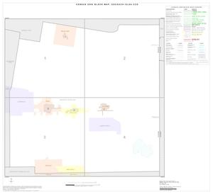 Primary view of object titled '2000 Census County Subdivison Block Map: Edcouch-Elsa CCD, Texas, Index'.