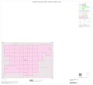 Primary view of object titled '2000 Census County Subdivison Block Map: Winnie-Stowell CCD, Texas, Inset A01'.