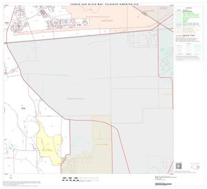 Primary view of object titled '2000 Census County Subdivison Block Map: Fulshear-Simonton CCD, Texas, Block 8'.