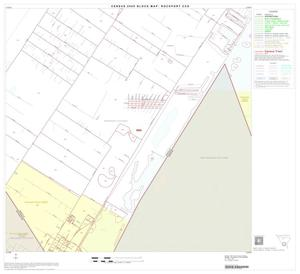 Primary view of object titled '2000 Census County Subdivison Block Map: Rockport CCD, Texas, Block 10'.
