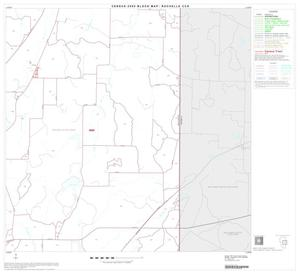 Primary view of object titled '2000 Census County Subdivison Block Map: Rochelle CCD, Texas, Block 4'.