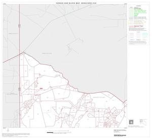 Primary view of object titled '2000 Census County Subdivison Block Map: Benavides CCD, Texas, Block 1'.