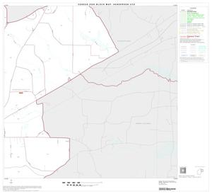 Primary view of object titled '2000 Census County Subdivison Block Map: Henderson CCD, Texas, Block 5'.
