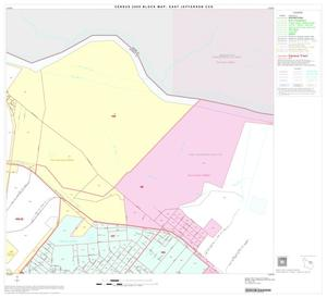 Primary view of object titled '2000 Census County Subdivison Block Map: East Jefferson CCD, Texas, Block 9'.